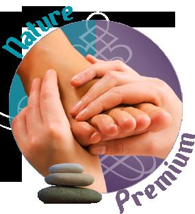 masaje para pies en eventos/ stand de masaje para pies