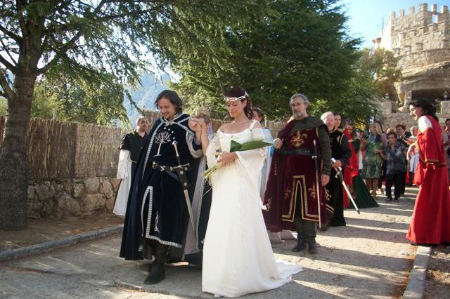 boda medieval, boda temática , disfraces