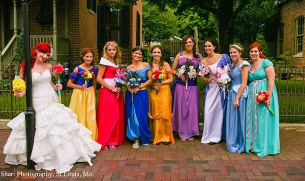 boda tematica, boda princesas disney