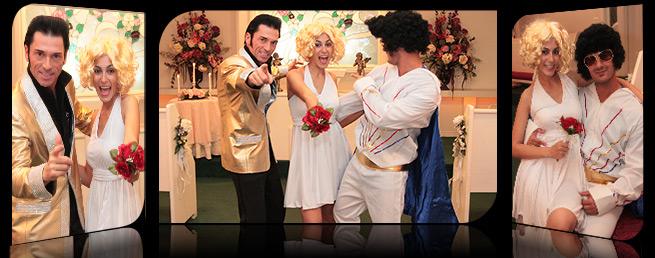 Boda las vegas, boda temática,
