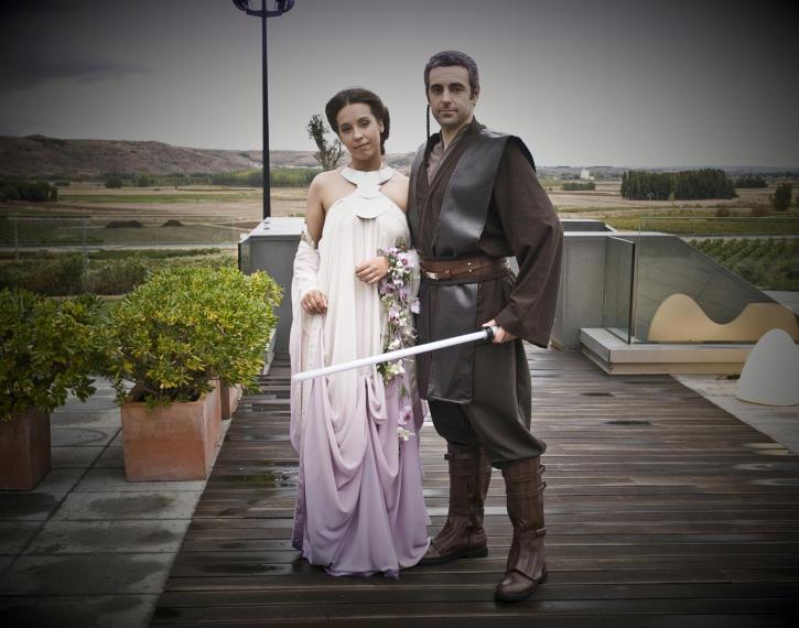 Boda Star Wars, boda temática, boda guerra de las galaxias