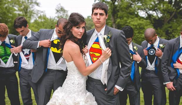 boda tematica superheroes, boda original boda disfraz