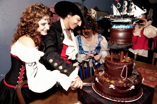 boda origina, boda pirata boda tematica
