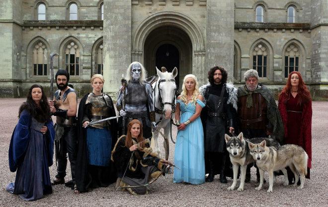 boda juego de tronos, boda temática, boda disfraces