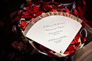 abanico boda flamenca