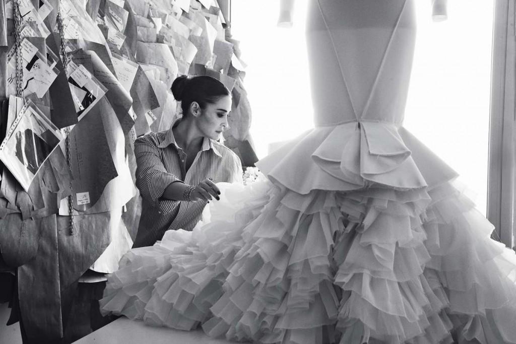 vestido novia flamenca